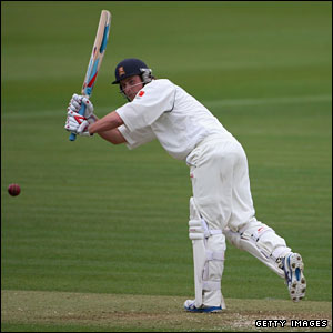 Tom Westley hits out for MCC