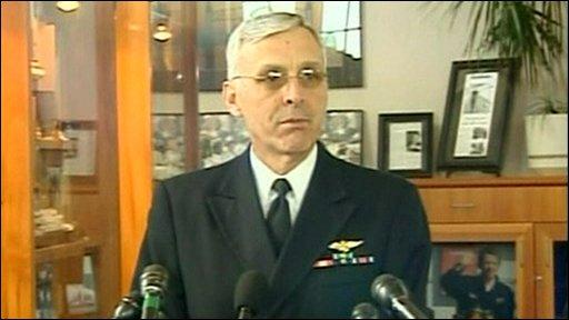 Admiral Rick Gurnon