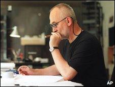 Peter Zumthor in his studio, Haldenstein, Switzerland