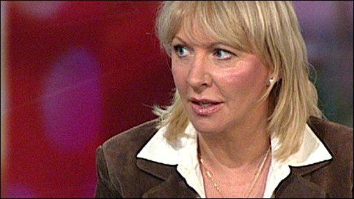 Conservative MP Nadine Dorries