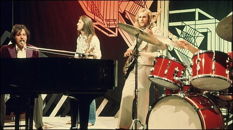 Procol Harum on Top of the Pops in 1970