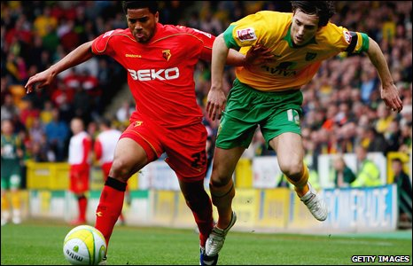 Adrian Mariappa and Alan Gow