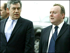 Gordon Brown and Damian McBride