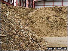 Biomass storage silo (Getty Images)