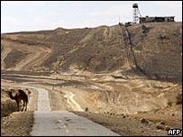 الحدود المصرية الإسرائيلية في سيناء