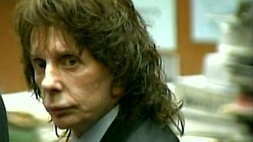 Phil Spector in court in Los Angeles (13/04/2009)