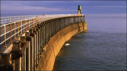 Pier in Whitby