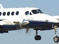 King Air plane