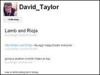 Safle Twitter David Taylor
