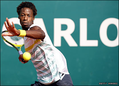 Gael Monfils was a surprise loser on Tuesday
