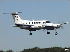 File photo of a King Air plane
