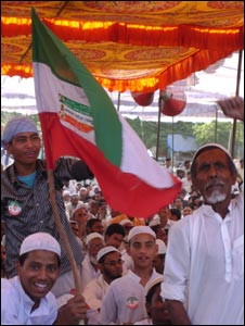 An Ulema Council rally
