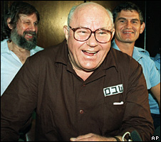 John Demjanjuk laughs in Israel's Supreme Court (1992)