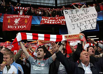 Liverpool fans, Stamford Bridge