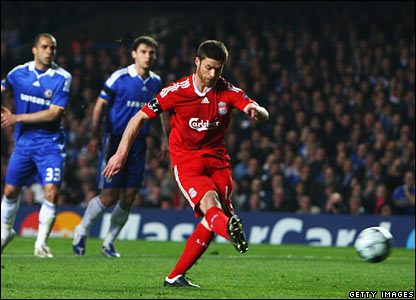 Xavi Alonso, Liverpool