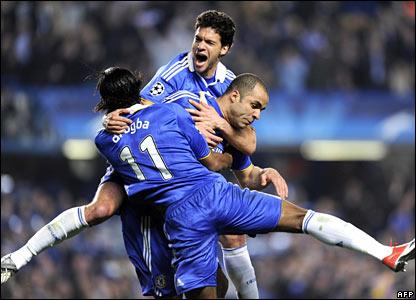 Didier Drogba, Michael Ballack, Alex, Chelsea