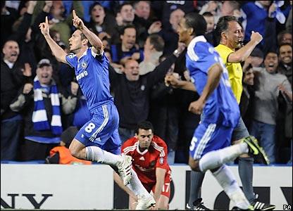 Frank Lampard, Florent Malouda, Chelsea