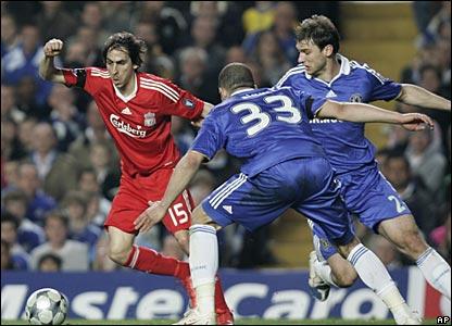 Yossi Benayoun, Liverpool; Alex, Branislav Ivanovic, Chelsea