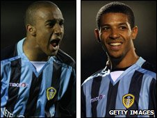 Fabian Delph and Jermaine Beckford