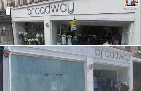 Broadway shop in Crouch End
