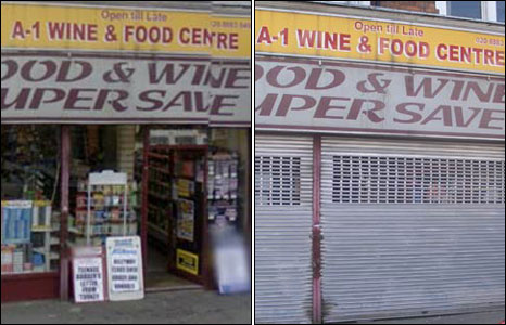 A grocery in Muswell Hill