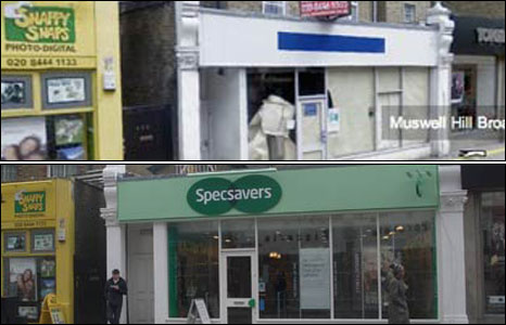 Specsavers in Muswell Hill