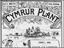 Cymru'r Plant (Welsh children's paper) from 1896