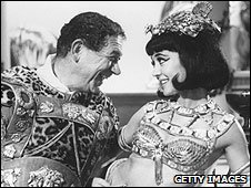 A scene from Carry On Cleo
