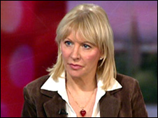 Tory MP Nadine Dorries