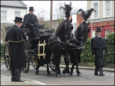 Funeral from BBC's Eastenders