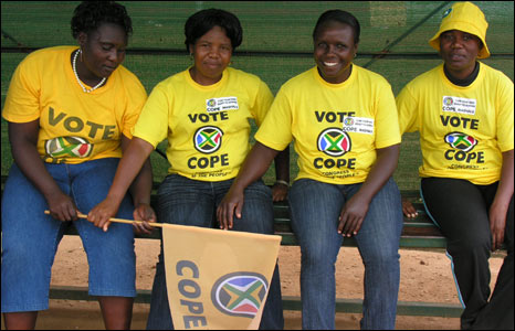 Cope supporters