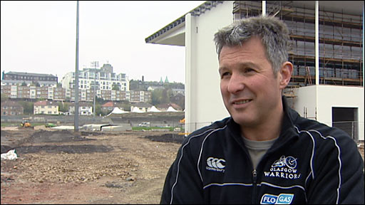 Glasgow head coach Sean Lineen