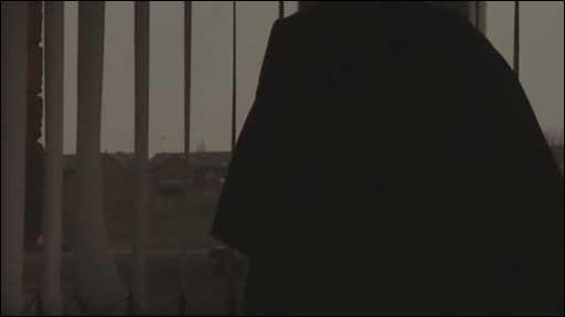 Anonymous Muslim woman