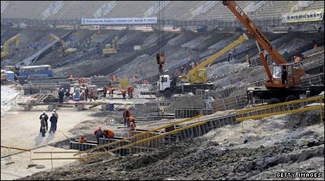 Kiev's Olympic Stadium