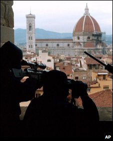 Snipers in Florence