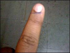 Finger of Tweeter Mohdabdurraafay