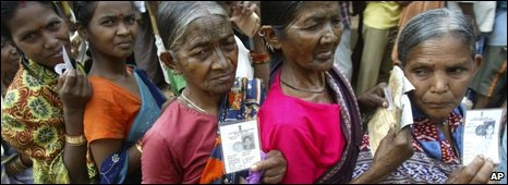 Villagers presently living in relief camps Orissa