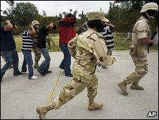 Arrests in Tijuana (2 April 2009)