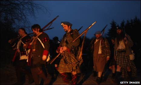 March re-enactment