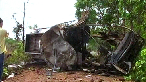 Aftermath of Maoist attack