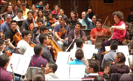 Gustavo Dudamel and the Simon Bolivar Youth Orchestra of Venezuela