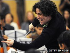 Gustavo Dudamel and the Simon