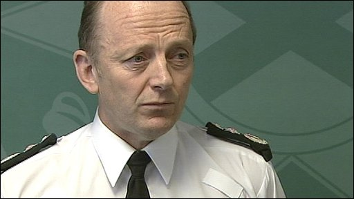 Northern Ireland's Chief Constable Sir Hugh Orde