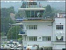New terminal at Farnborough Airport