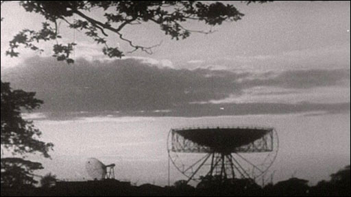 Archive image of Lovell telescope