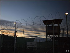 The US detention facility at Guantanamo Bay, Cuba (file picture)
