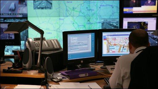 Inside the London Traffic Control Centre