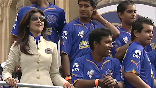 Rajhastan Royals co-owner Shilpa Shetty