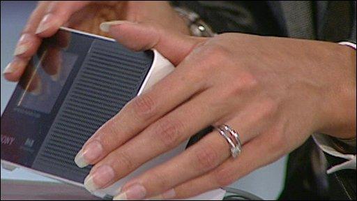 Spy alarm clock gadget