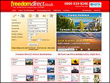 Freedomdirect website